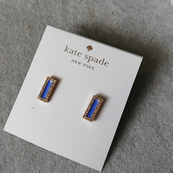 970b6c45a665f Kate spade raising the bar blue earring